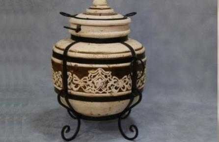 Тандыр средний керамический фото