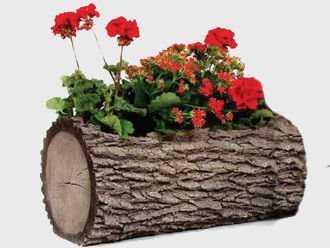 Горшок-цветочница горизонтальный L фото