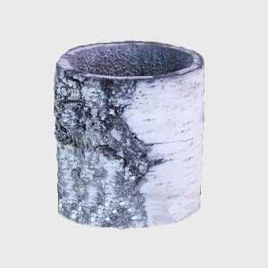 Горшок-цветочница вертикальный береза S фото
