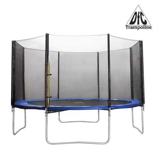Батут 12 футов (366 см) DFC Trampoline Fitness с сеткой 12 ft - TR-E фото