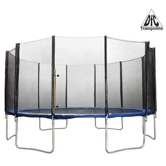Батут 16 футов (488 см) DFC Trampoline Fitness с сеткой 16 ft - TR-E фото