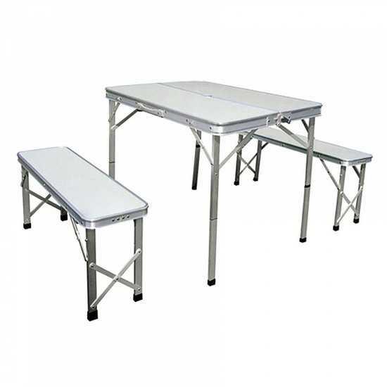 стол складной с 2-мя стульями НТО6-0041/3 фото
