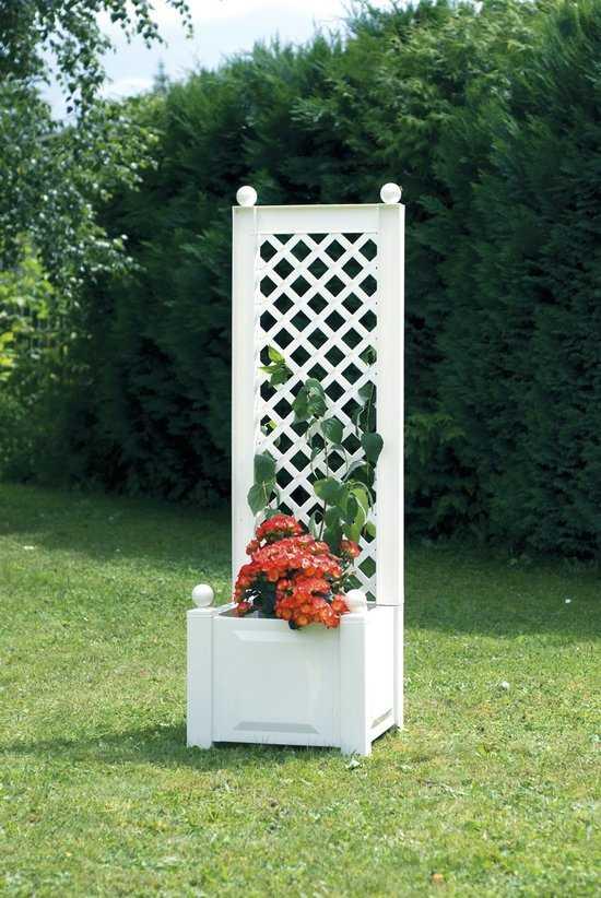 Маленький ящик для растений с шпалерой 37201 фото