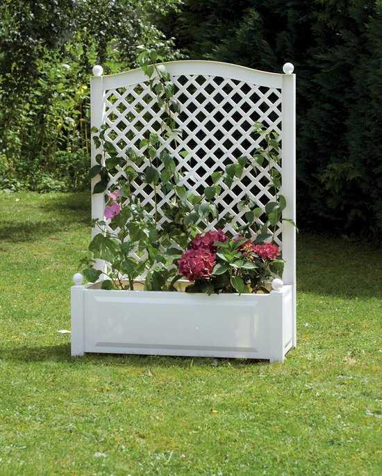 Большой ящик для растений с шпалерой 37001 фото