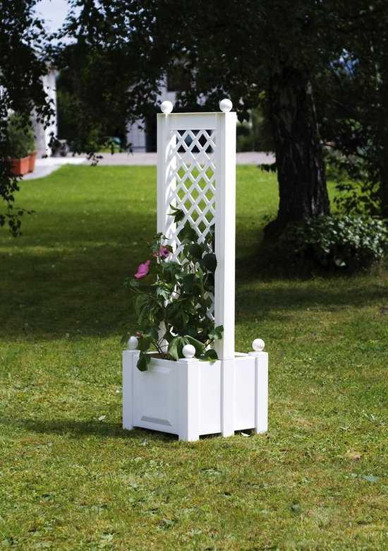 Маленький ящик для растений с центральной шпалерой 37401 фото