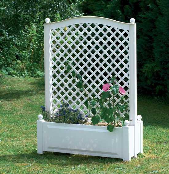 Большой ящик для растений с центральной шпалерой 37101 фото