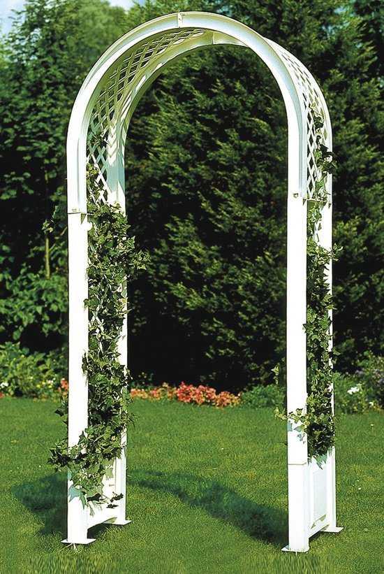 Садовая арка с штырями для установки в землю 37901 фото