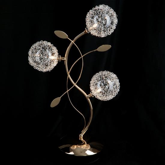 Фото №3 Настольная лампа 4800/3 золото  наст. лампа