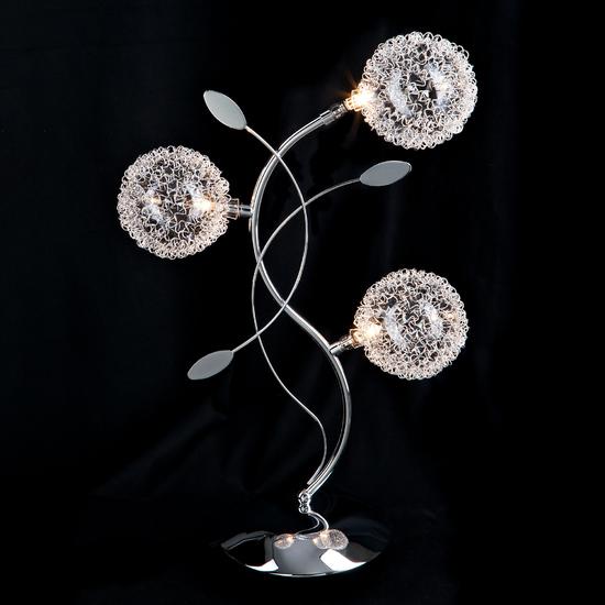 Фото №3 Настольная лампа 4800/3 хром  наст. лампа