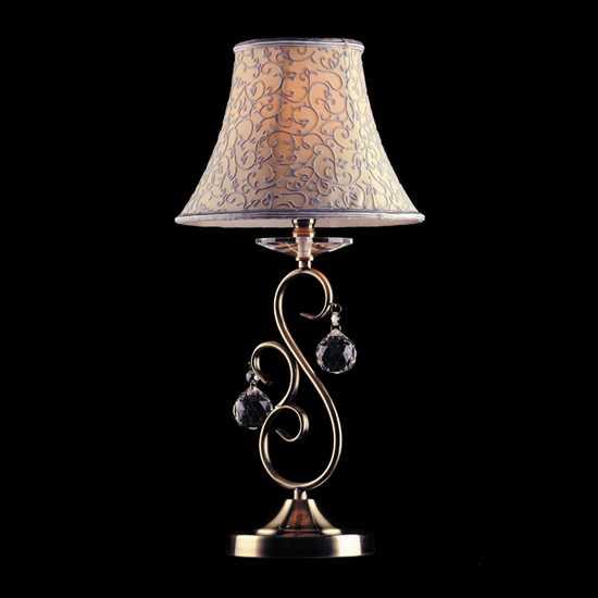 Настольная лампа 3294/1T античная бронза Strotskis фото