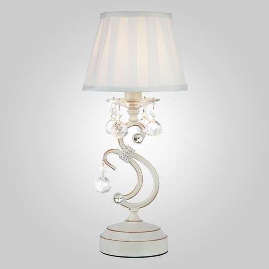 Фото №2 Настольная лампа 12075/1T белый