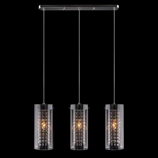 Подвесной светильник 1636/3 хром фото
