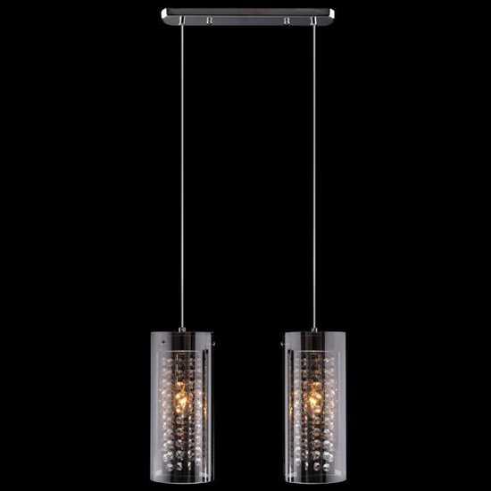 Подвесной светильник 1636/2 хром фото