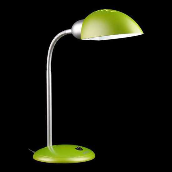 Фото №2 Настольная лампа 1926  зеленый