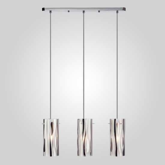 Подвесной светильник 1575/3 хром фото