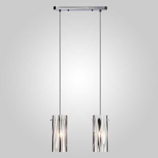 Подвесной светильник 1575/2 хром фото