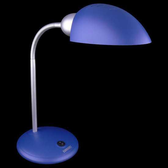 Фото №2 Настольная лампа 1926  синий