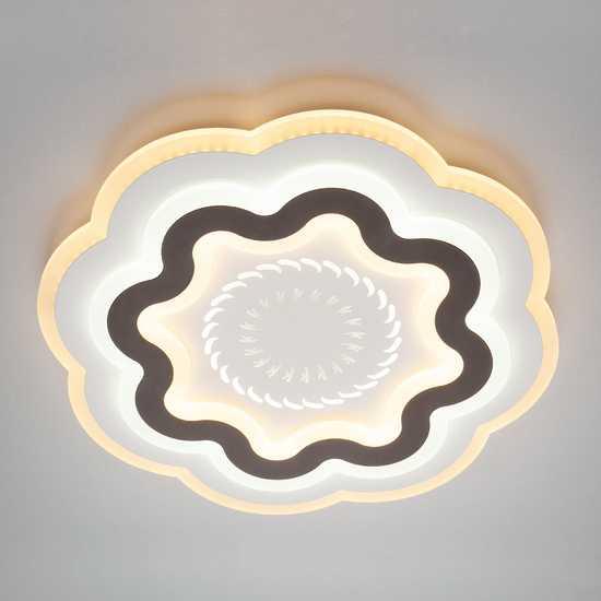 Светодиодный потолочный светильник 90120/1 белый фото