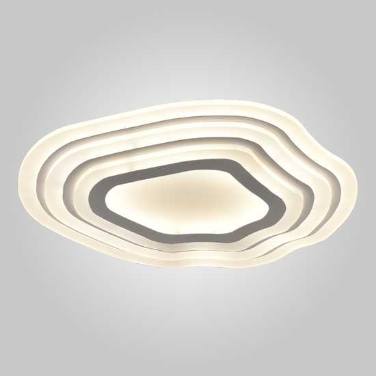 Светодиодный потолочный светильник 90119/1 белый фото