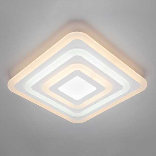 Светодиодный потолочный светильник 90118/1 белый фото