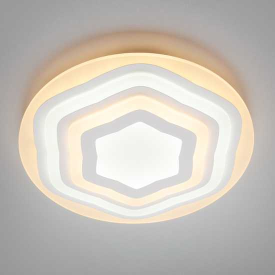 Светодиодный потолочный светильник 90117/1 белый фото