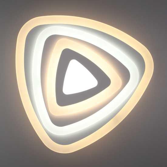 Светодиодный потолочный светильник 90116/1 белый фото