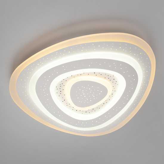 Светодиодный потолочный светильник 90115/1 белый фото