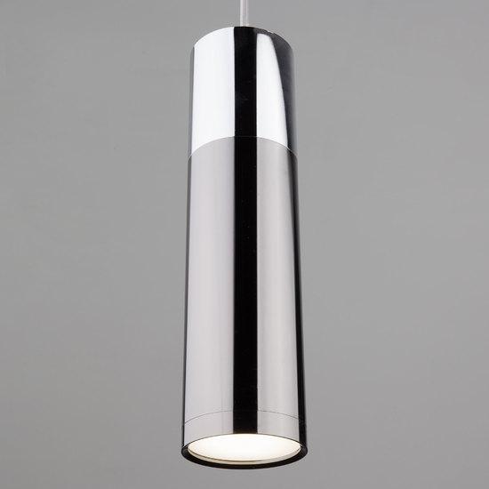 Фото №4 Подвесной светильник 50135/1 LED хром/черный жемчуг