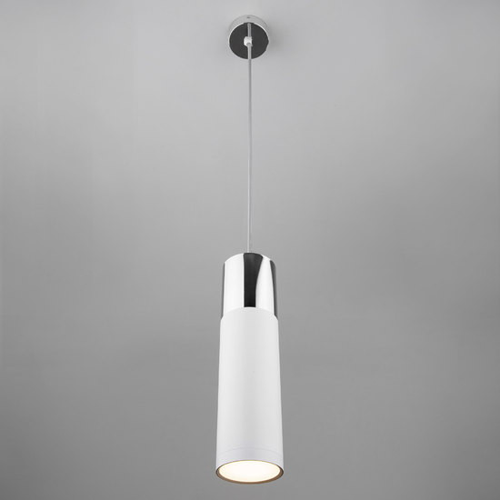 Фото №5 Подвесной светильник 50135/1 LED хром/белый
