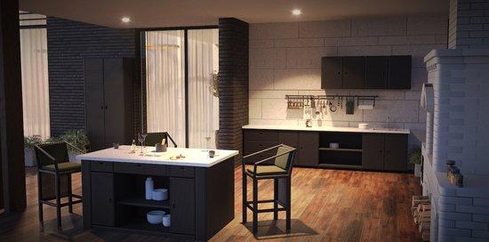 Фото №2 Кухня из искусственного ротанга СЕЛЕНА
