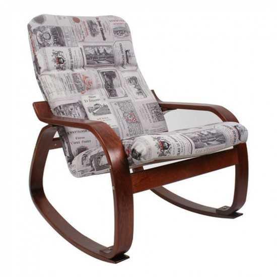Кресло качалка Сайма (ткань) фото