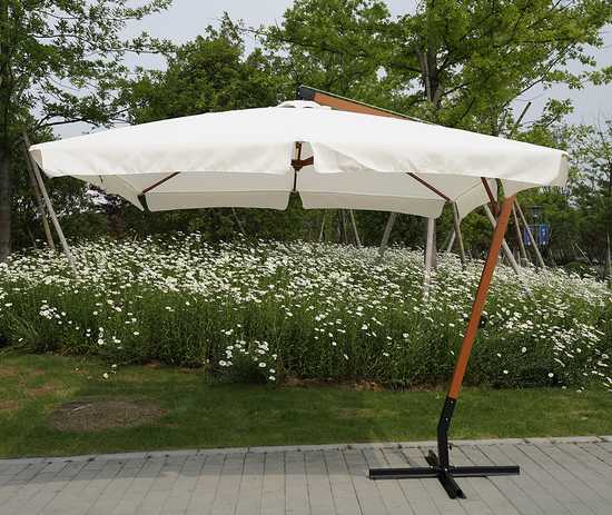 Фото №2 Садовый зонт Garden Way MADRID Бежевый арт. SLHU010