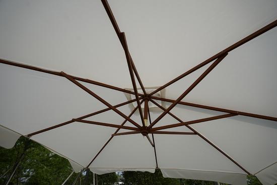 Фото №3 Садовый зонт Garden Way MADRID Бежевый арт. SLHU010