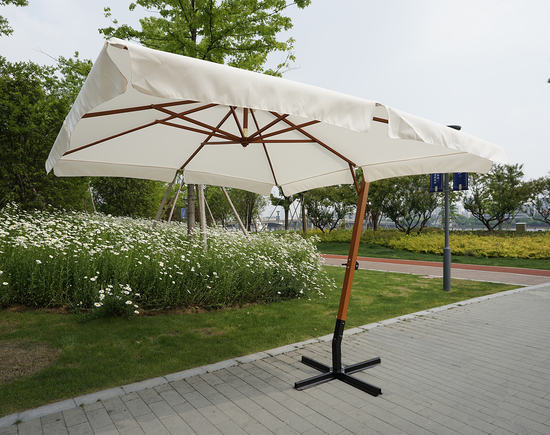 Фото №6 Садовый зонт Garden Way MADRID Бежевый арт. SLHU010