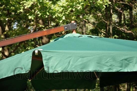 Фото №4 Садовый зонт Garden Way PARIS арт. SLHU007