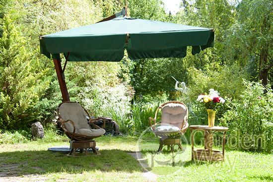 Фото №7 Садовый зонт Garden Way PARIS арт. SLHU007