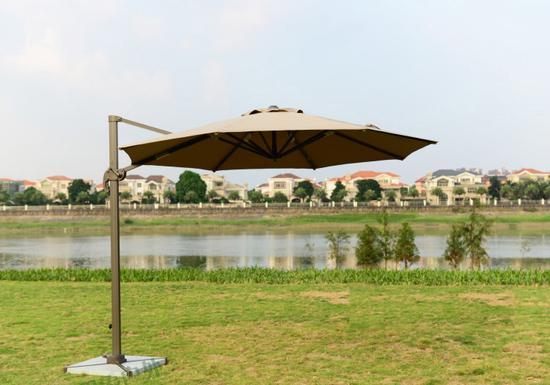 Фото №3 Садовый зонт Garden Way RIO Кремовый арт.  А002-3500