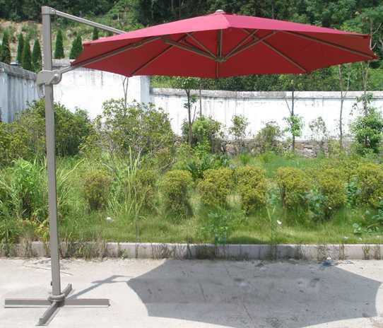 Фото №2 Садовый зонт Garden Way MIAMI Бордовый  арт. А002-3000