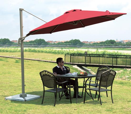 Фото №3 Садовый зонт Garden Way MIAMI Бордовый  арт. А002-3000