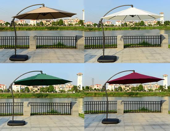Фото №6 Садовый зонт Garden Way MARSEILLE Бордовый арт. А005