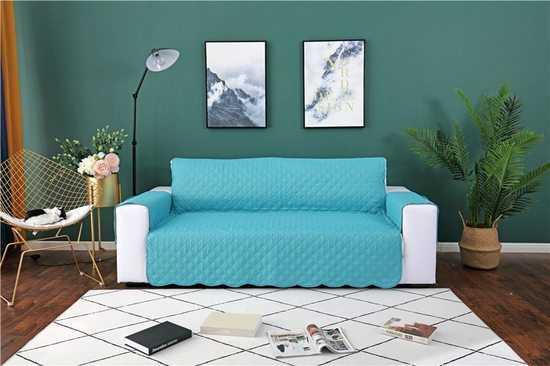 Чехол для кресла и дивана стеганный с карманом фото