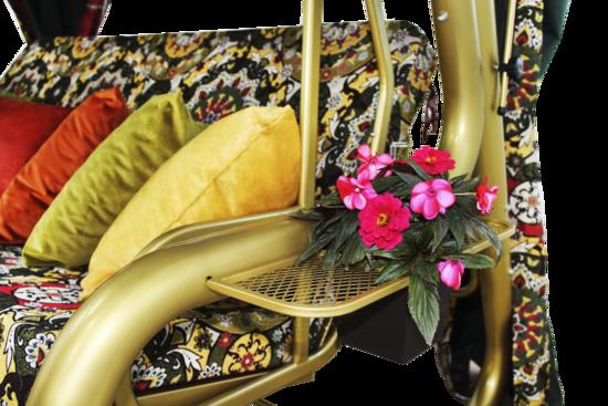 фото Садовые качели четырехместные БАХЧИСАРАЙ