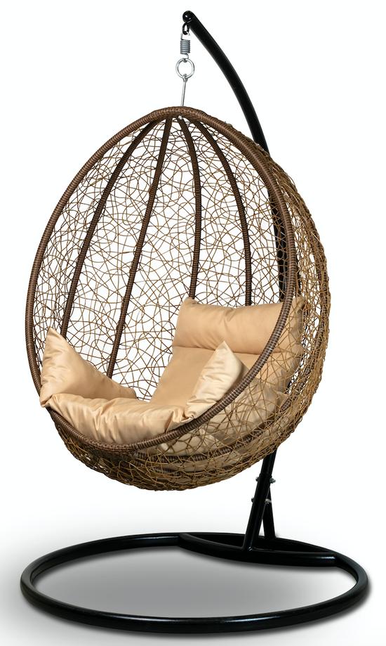 Фото №2 Подвесное кресло-кокон MALAGA + каркас