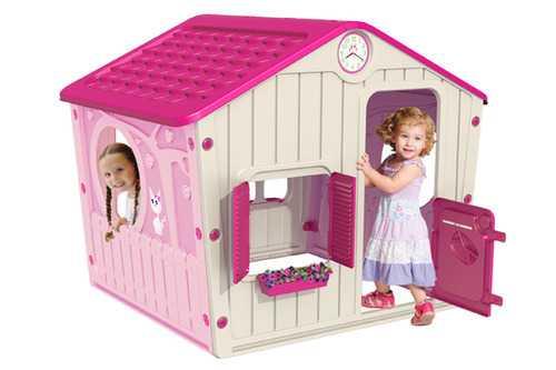 Фото №2 Детский игровой домик-вилла для девочек арт. 04-561