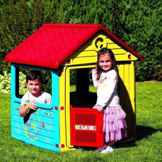 Фото №2 Детский игровой домик без трубы арт. 3012