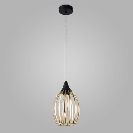 Подвесной светильник в стиле лофт 2816 Liza Gold фото