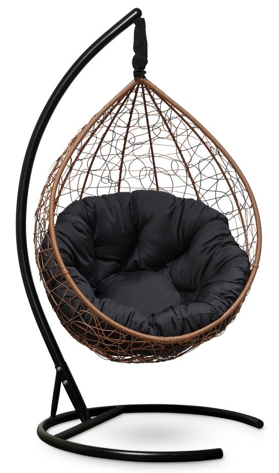 Фото №3 Подвесное кресло SEVILLA VERDE горячий шоколад + каркас