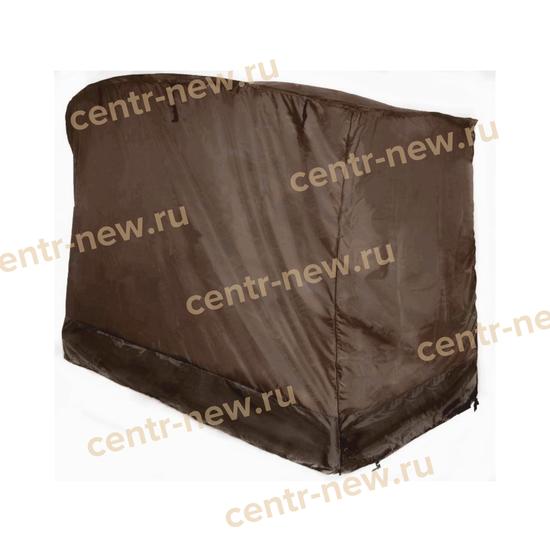 Чехол для садовых качелей ЭДЕМ ЛЮКС 76 (шоколад) фото