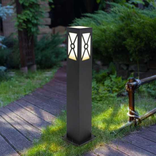 ландшафтный светильник 1406 TECHNO черный фото