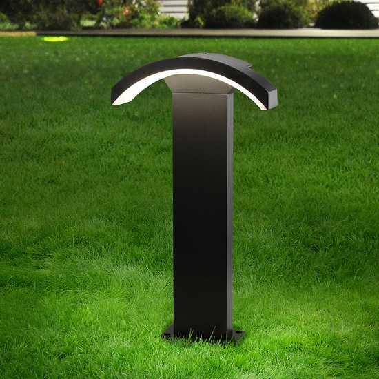 Asteria F черный ландшафтный светильник TECHNO 1677 LED фото